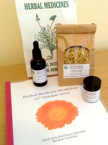 Workshop Handbook & Herb Samples